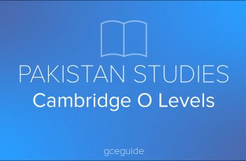 Pakistan Studies - O Levels